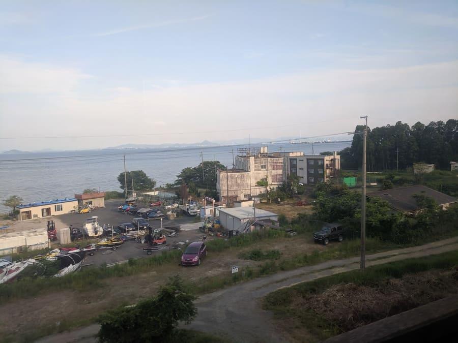 新快速 琵琶湖
